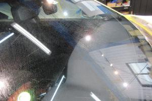 トヨタ クラウンマジェスタ フロント・リアガラス研磨
