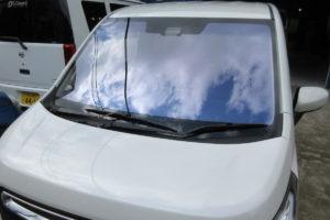 スズキ ワゴンR MH55S コートテクトBAS付熱反射フロントガラス交換