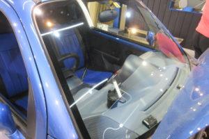 スズキ ツイン ハイブリッド 赤外線&紫外線カットガラス クールベール交換