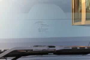 クライスラー グランドボイジャー 純正フロントガラス交換