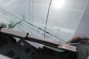 ホンダ モビリオスパイク サンテクト断熱フロントガラス交換
