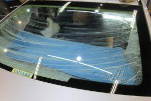 メルセデスベンツ C200セダン 断熱カーフィルム施工