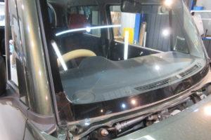 スズキ ハスラーMR31 フロントガラス交換