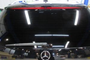 メルセデスベンツ E220 断熱フィルム施工