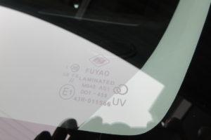 マツダ MPV LW(後期) フロントガラス交換