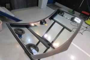 ダイハツ タントLA600S コートテクト熱反射フロントガラス交換
