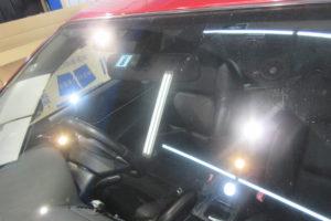 スバル レガシィBP フロントガラス交換