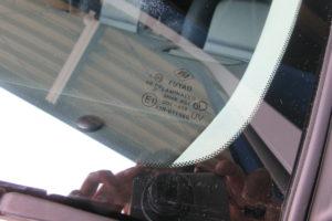 スバル レガシィBP5 フロントガラス交換