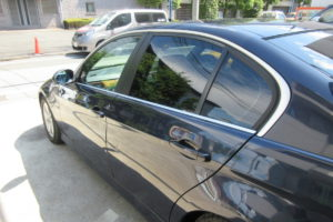 BMW 323i セダン 断熱フィルム施工