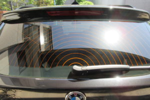 BMW X3 断熱カーフィルム施工